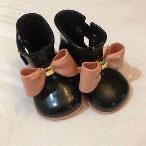 Mini Melissa NEW Rainboots Sz 5 toddler